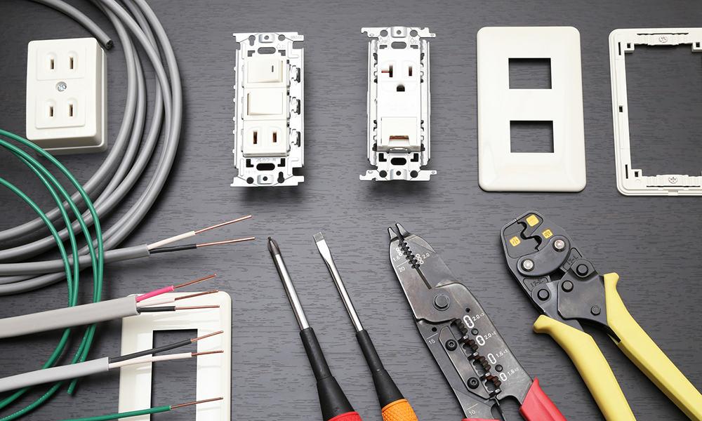 電気工事の工具