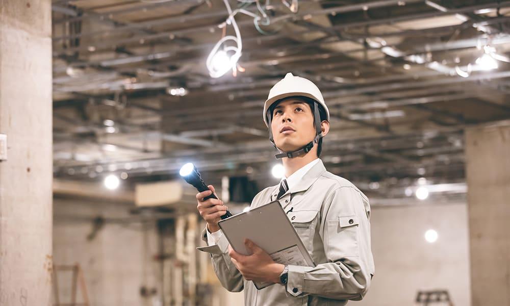 電気の設備点検